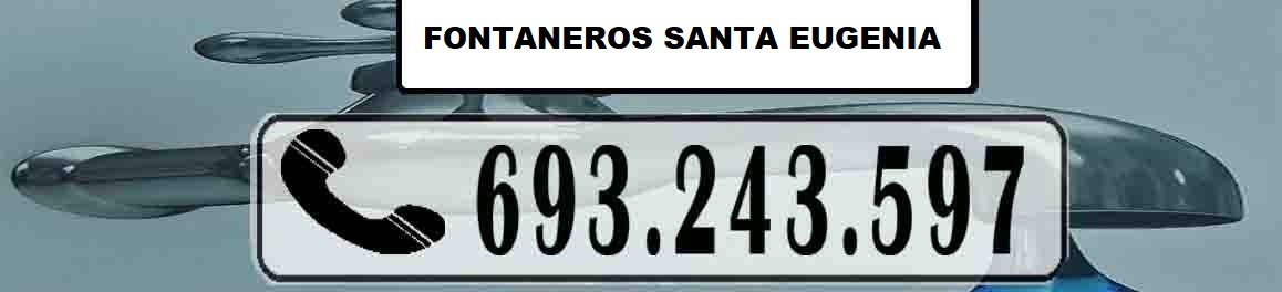 Fontaneros Santa Eugenia Madrid Urgentes