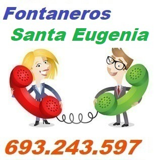 Telefono de la empresa fontaneros Santa Eugenia