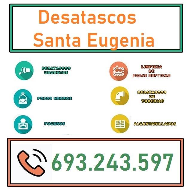 Desatascos Santa Eugenia
